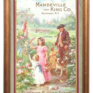 Mandeville and King Flower Seeds Sign