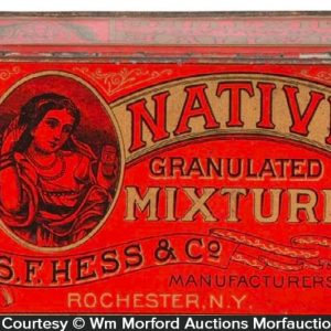Native Tobacco Tin