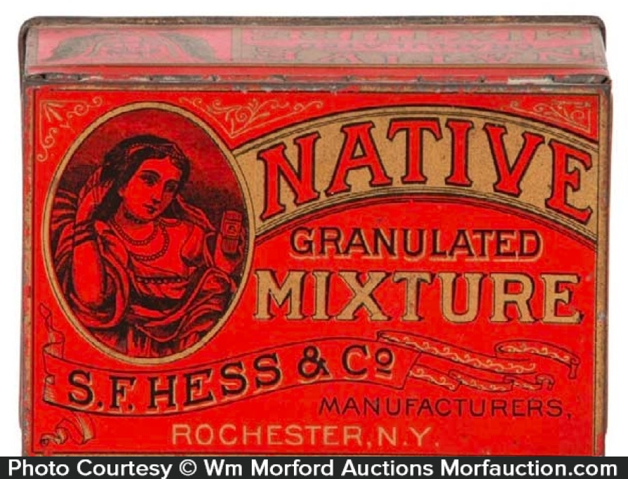 Native Tobacco Tin