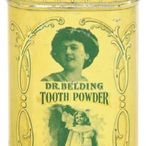 Dr. Belding Tooth Powder Tin