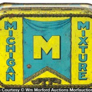 Michigan Mixture Tobacco Tin