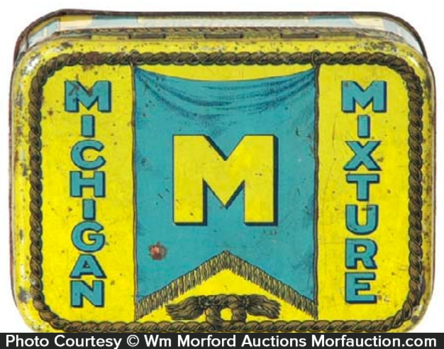 Michigan Mixture Tobacco Tin