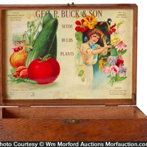 Geo. P. Buck & Son Seed Box