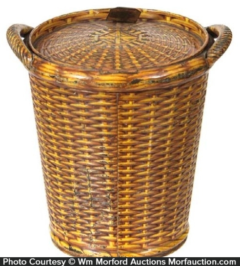 Huntley & Palmers Basket Biscuit Tin