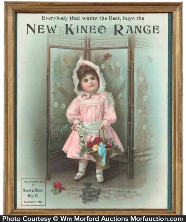 New Kineo Ranges Sign