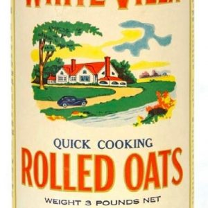White Villa Oats Box