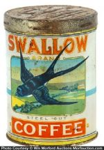 Swallow Coffee Can