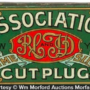 Association Cut Plug Tobacco Tin