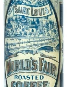 Blanke's World's Fair Coffee Tin