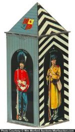 Sentry Box Biscuits Tin