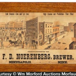 Noerenberg Brewery Sign