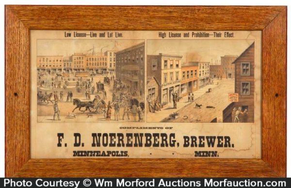 Noerenberg Brewery Sign