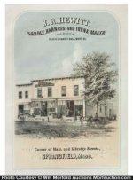 Saddle Maker Sign