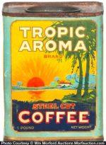 Tropic Aroma Coffee Tin