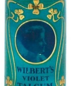 Wilbert's Violet Talcum Powder Tin