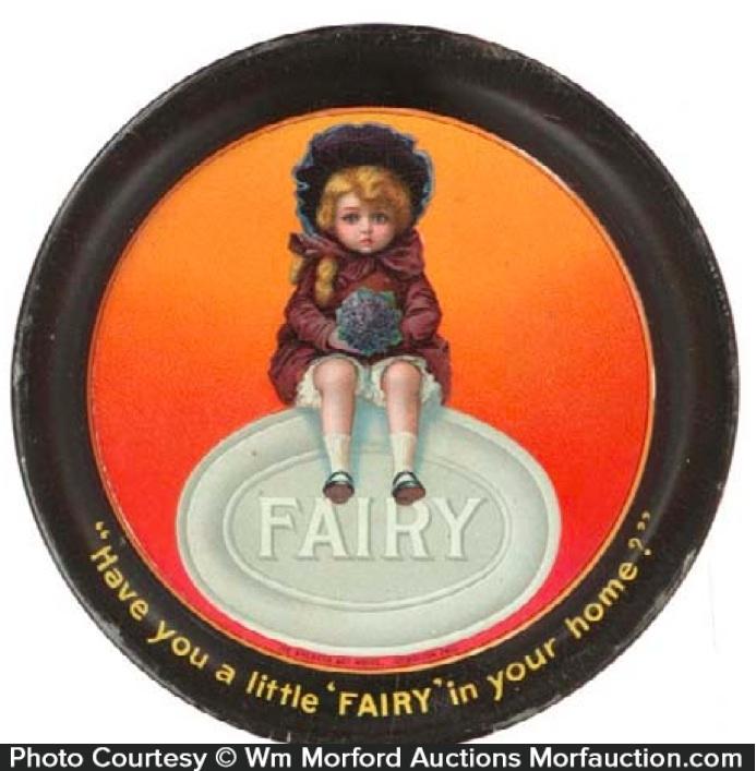 Fairy Soap Tip Tray