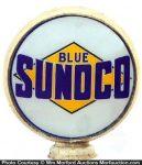 Blue Sunoco Gas Globe