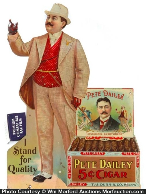 Pete Dailey Cigars Sign