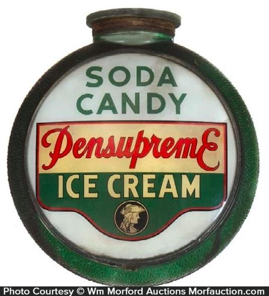 Pensupreme Ice Cream Globe