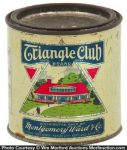 Triangle Club Peanut Butter Tin