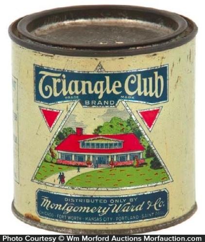 Triangle Club Peanut Butter Tin