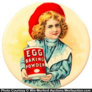 Egg Baking Powder Pocket Mirror