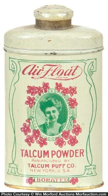 Air Float Talcum Powder Tin