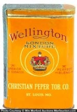 Wellington London Mixture Tobacco Tin