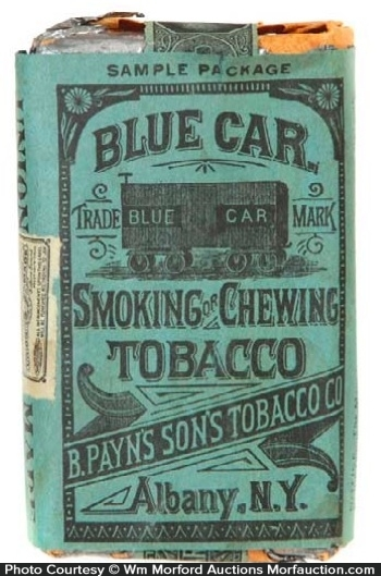 Blue Car Tobacco Sample Pack