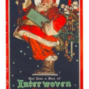 Interwoven Socks Santa Sign