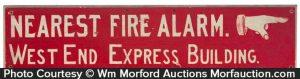 Folky Fire Alarm Sign