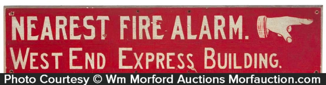 Folky Fire Alarm Sign