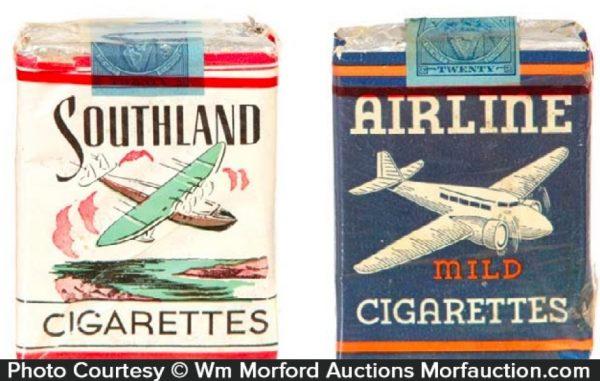 Vintage Airline Cigarettes