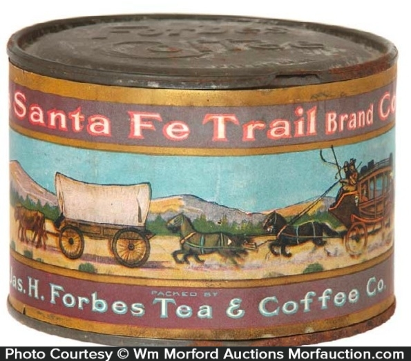 Santa Fe Trail Coffee Can