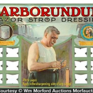 Carborundum Razor Display