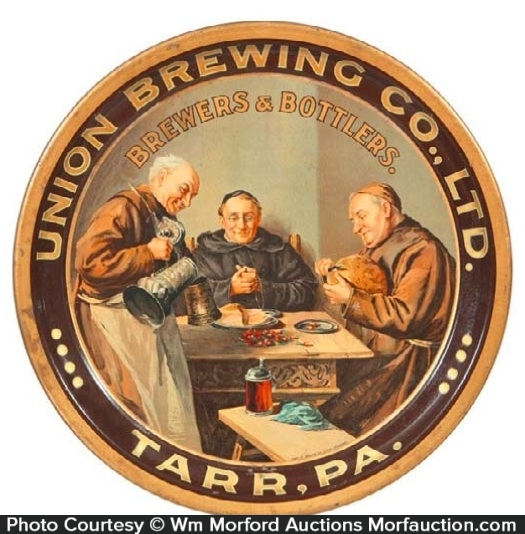Union Brewing Beer Tray
