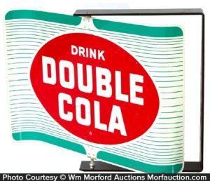 Double-Cola Soda Sign