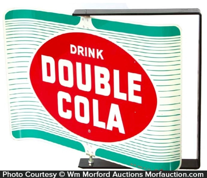 Double-Cola Soda Sign
