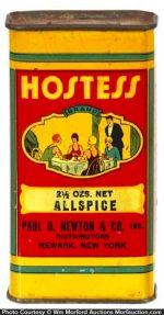 Hostess Spice Tin