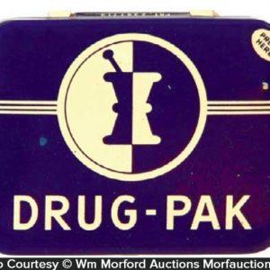 Drug-Pak Condom Tin