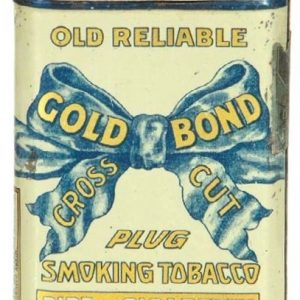 Gold Bond Tobacco Tin