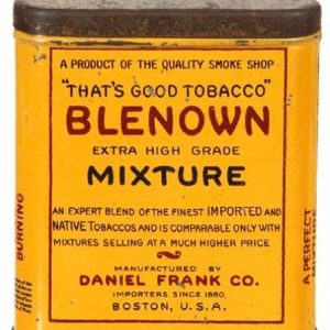 Blenown Tobacco Tin