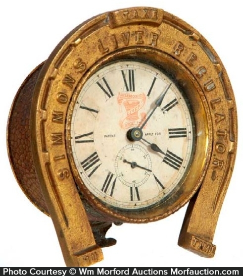 Simmons Liver Regulator Clock