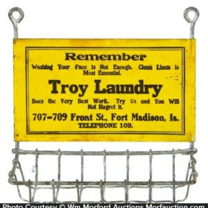 Troy Laundry Soap Holder