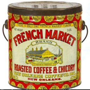 French Market Coffee Pail