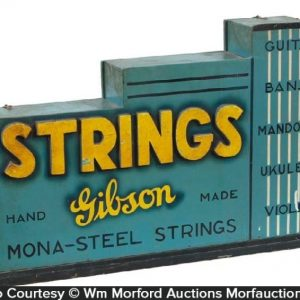 Gibson Music Strings Display