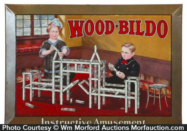 Wood-Bildo Toy Sign