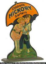 Hickory Garters Display
