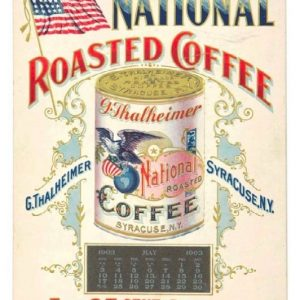 National Coffee Sign
