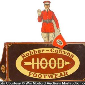 Hood Rubber Footwear Display